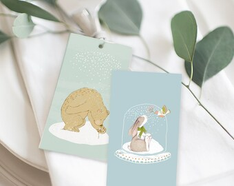 Christmas Gift Tags - Tis the Season (Style 13997)