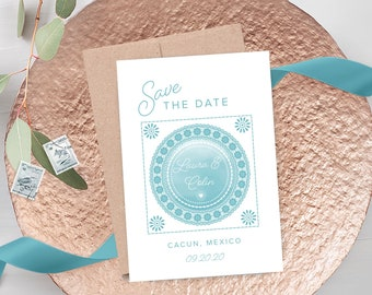 Save the Date Cards - Destination Wedding (Style 13647-1)