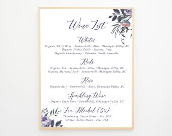 Bar Sign - Lavender Breeze (Style 13871)