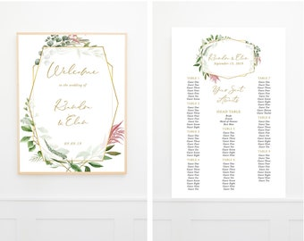Large Sign Package - Botanical Garden (Style 13910)
