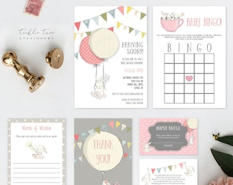 Baby Shower Party Package - Some Bunny is Turning One (Style 13641)
