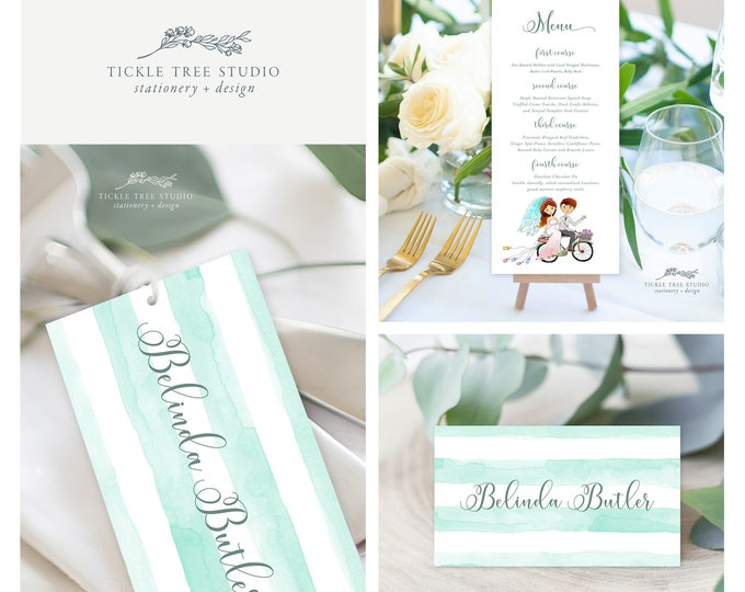 We're Getting Hitched (Style 13501) - Day of Stationery Deposit