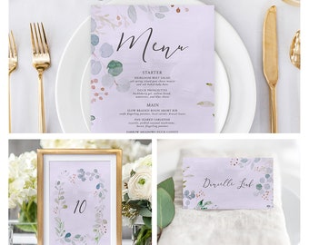 Reception Stationery Package (DEPOSIT) - Enchanted (Style 13852)