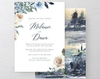 Swan Lake (Style 13863) - Wedding Invitations