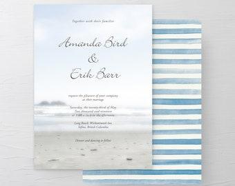 Long Beach (Style 13183) - Wedding Invitations