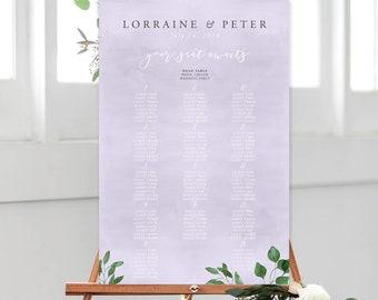 Seating Chart/Design & Printing or Printable File - Enchanted (Style 13872)