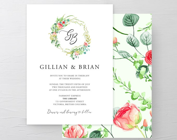 Country Charm (Style 13798) - Wedding Invitations