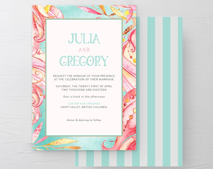 Carnival Whimsy (Style 13773) - Wedding Invitations