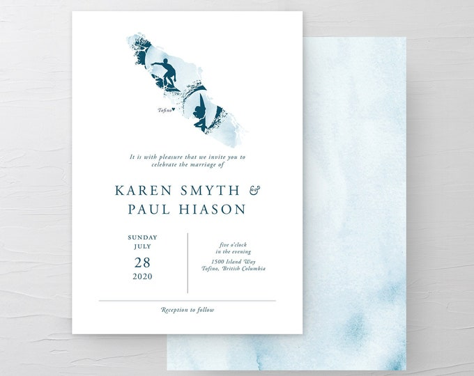 Island Surf (Style 13941) - Wedding Invitations