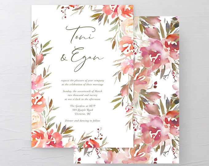 Wedding Day In the Park (Style 13976) - Wedding Invitations