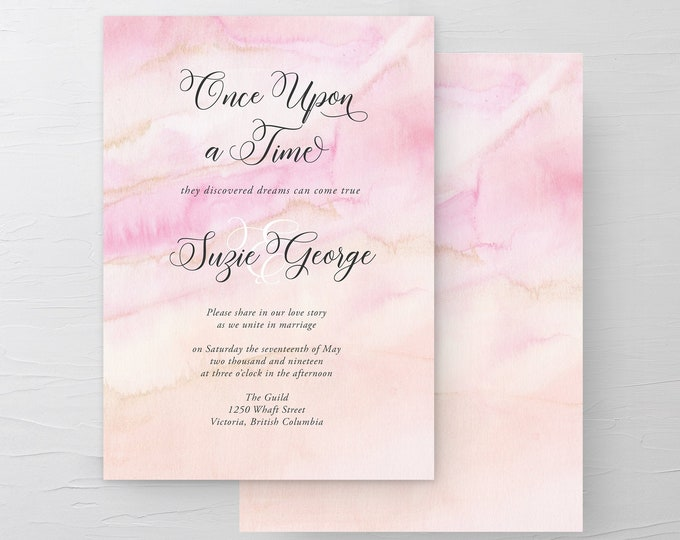 Once Upon A Time (Style 13671) - Wedding Invitations