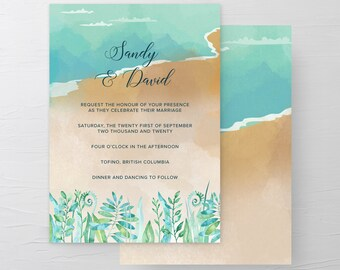 Sandy Shores (Style 13596) - Wedding Invitations