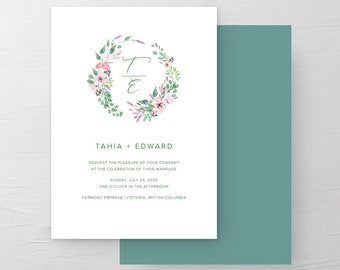 Spellbound and In Love (Style 13969) - Wedding Invitations