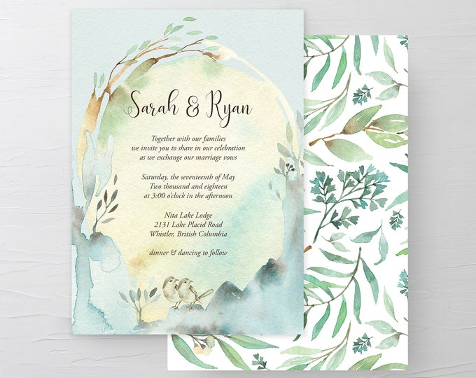 Nature's Dreamers (Style 13821) - Wedding Invitations