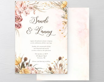 Celebrating Romance (Style 13977) - Wedding Invitations