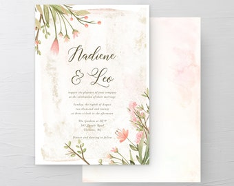 Love is in Bloom (Style 13978) - Wedding Invitations