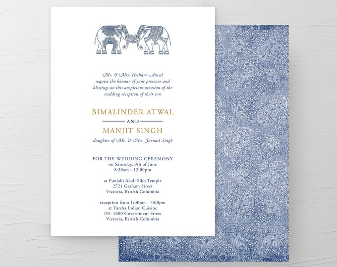 One Heart (Style 13792) - Wedding Invitations