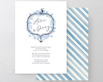 Sweet Sails (Style 13630) - Wedding Invitations
