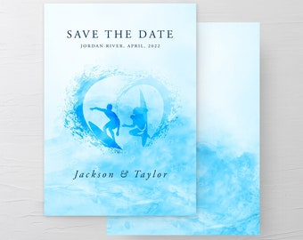 Wave of Love (Style 13644) - Save the Dates