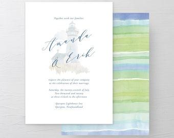 Lighthouse (Style 13625) - Wedding Invitations