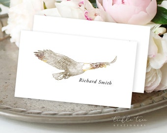 Day of Details - Place Cards/Design & Printing - Rustic Woods (Style 13768)
