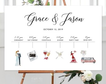 Our Big Day/Design & Printing or Printable File - Watercolour Graphics (Style 13893)