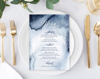 Day of Details - Menus/Design & Printing - Whistler Winds (Style 13760)