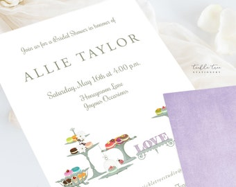Wedding Invitations/Invitation Suites - Sweets & Tea (Style 13430)