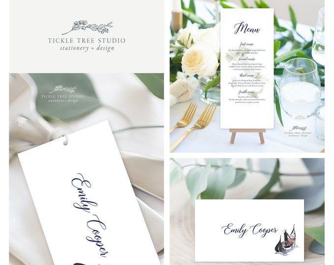 Come Fly with Us Destination Wedding (Style 13959) - Day of Stationery Deposit