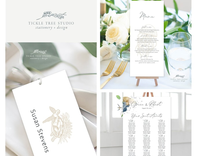Sea Breeze (Style 13901) - Day of Stationery Deposit