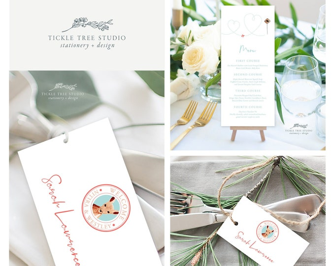 Come Fly with Us Destination Wedding (Style 13885) - Day of Stationery Deposit