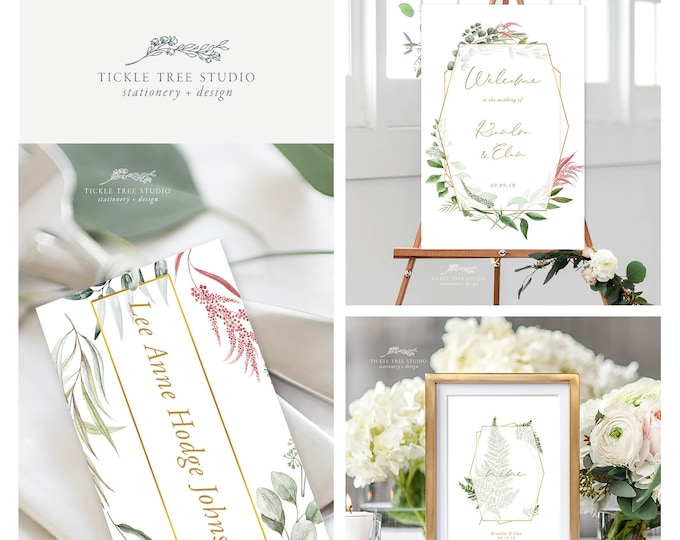 Botanical Garden (Style 13910) - Day of Stationery Deposit