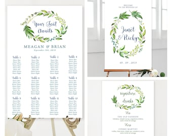 Large Sign Package - Rainforest Garden (Style 13701)