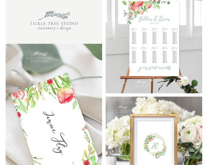 Country Charm (Style 13798) - Day of Stationery Deposit