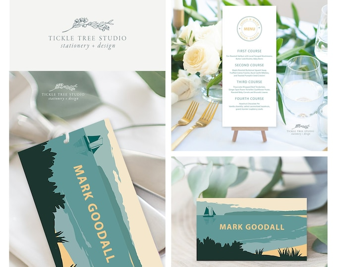 Come Fly with Us Destination Wedding (Style 13914) - Day of Stationery Deposit