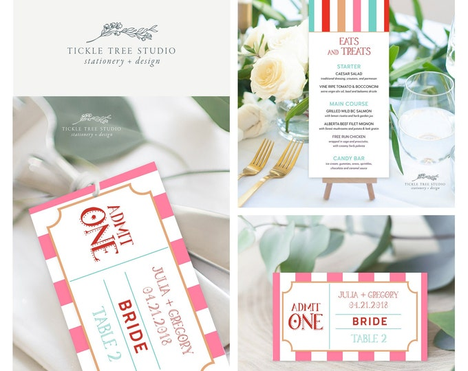 Carnival Whimsy (Style 13773) - Day of Stationery Deposit