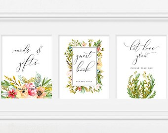 Reception Signs/Various - Mountainside Meadow (Style 13751)