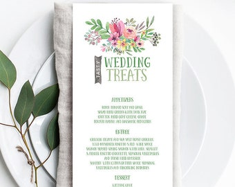 Menus - Country Charm (Style 13505)