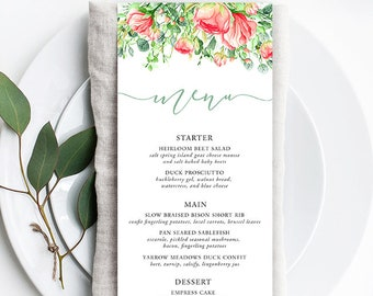 Menus - Country Charm (Style 13798)