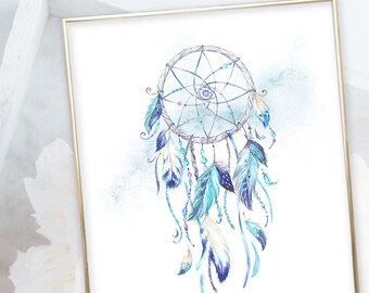 Kid's Wall Art - Dream Catcher (W00057)