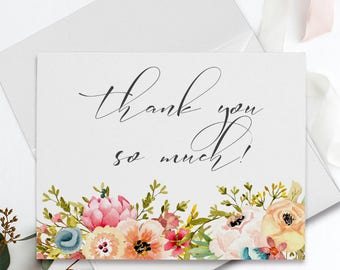 Thank You Cards - Mountainside Meadow (Style 13751)
