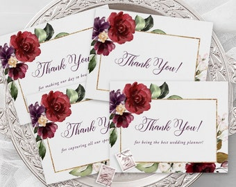 Thank You Cards - A Beautiful December (Style 13858)