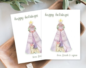 Holiday Note Card Set - Holiday Penguin (HC17)