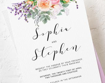 Wedding Invitations - Country Charm (Style 13759)