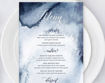 Printable Menu - Whistler Winds (Style 13760)