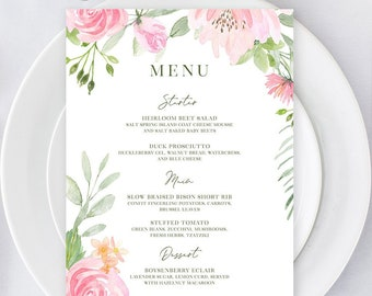 Menus/Table Decor - Summer Bloom (Style 13896)
