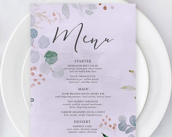 Menus/Table Decor - Enchanted (Style 13852)