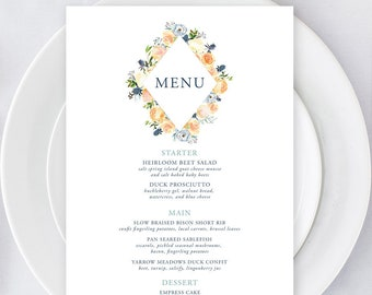 Menus/Table Decor - Thistle & Bloom (Style 13796)