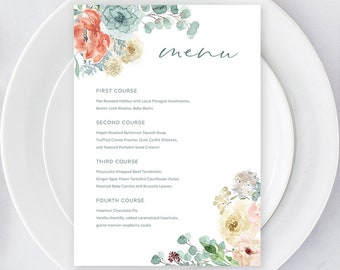Day Of: Menus