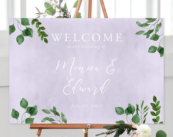 Welcome Sign/Design & Printing or Printable File - Enchanted (Style 13872)